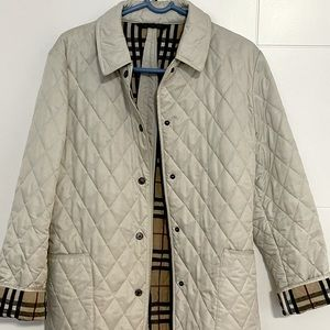Burberry Quilted Jacket sz M
